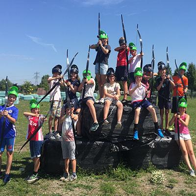 Groepsactiviteit Archery tag